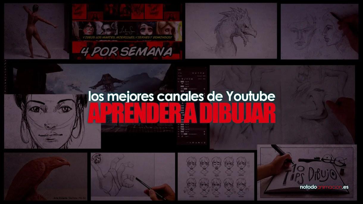 aprender a dibujar en español - canales de youtube