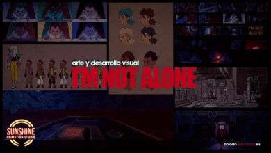 El arte de I'm not Alone - desarrollo visual