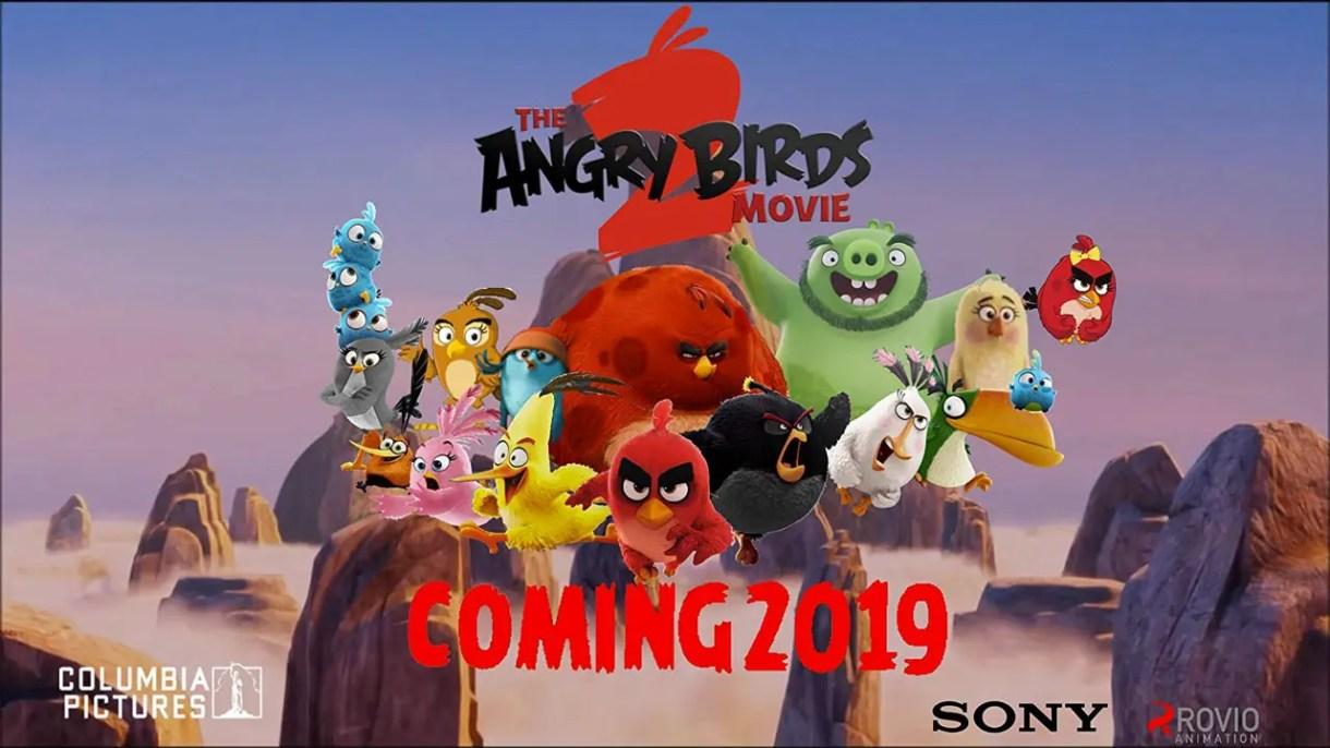 angry birds 2 pelicula  de animacion 2019