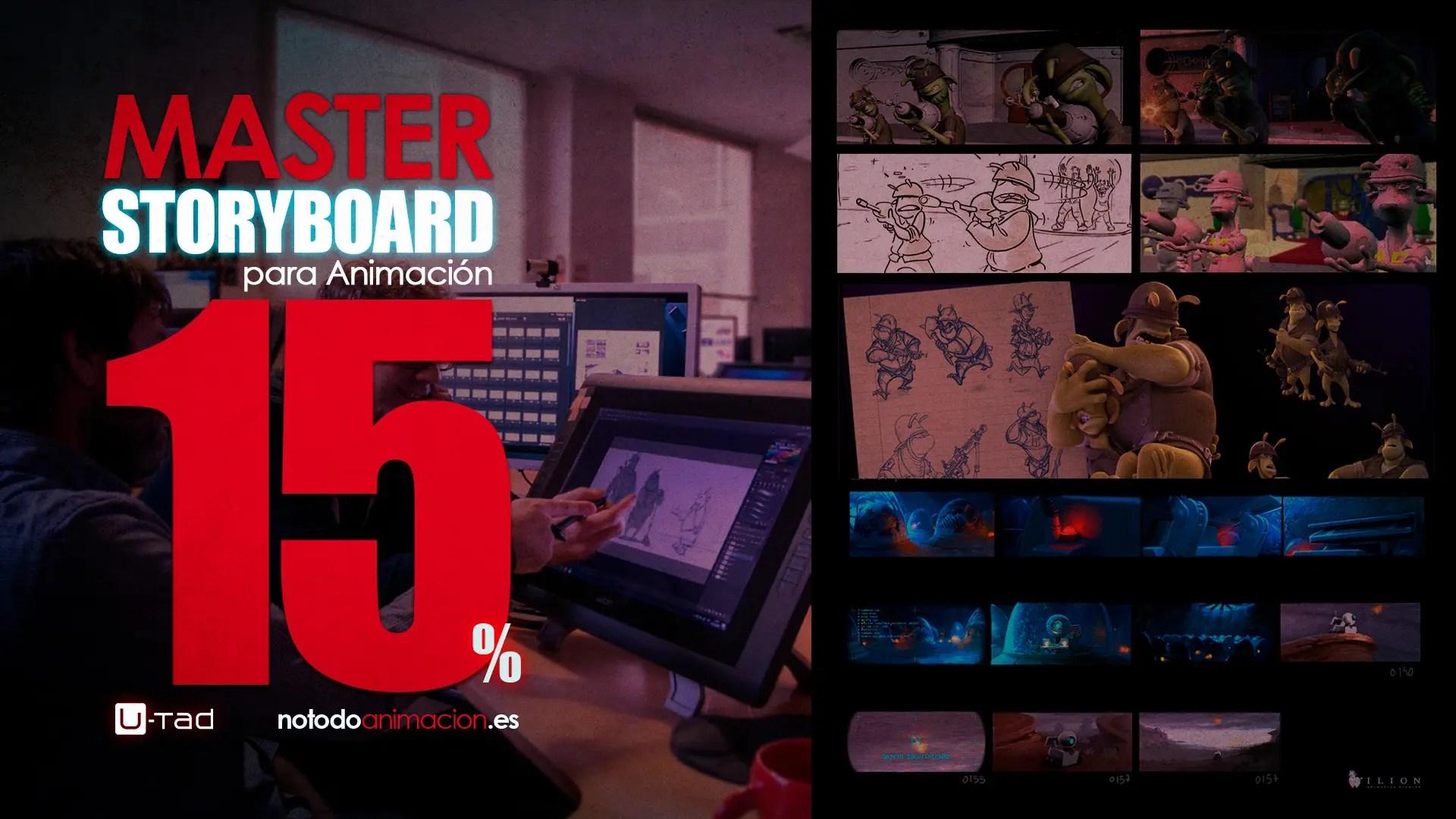 Máster Profesional de Storyboard para Animación | 5 Becas