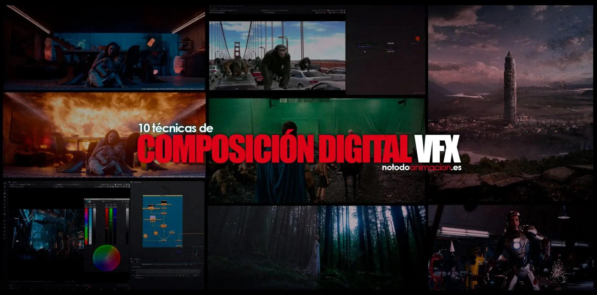 10 Técnicas de Composición Digital en VFX