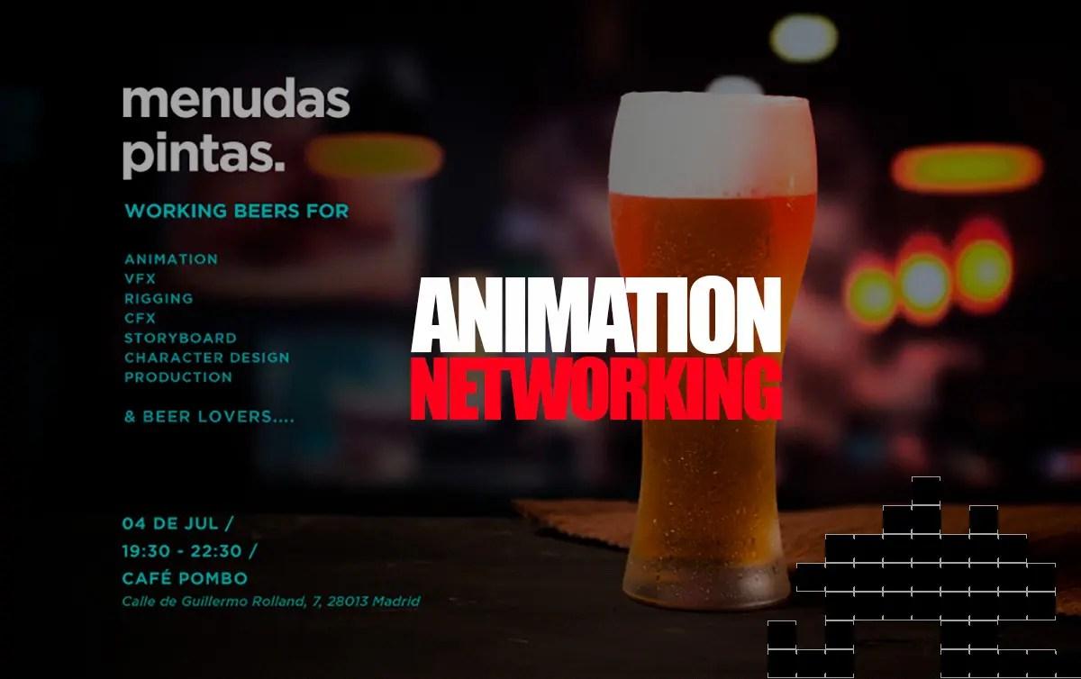 Networking | Animación, Concursos, Cervezas & Arte Digital