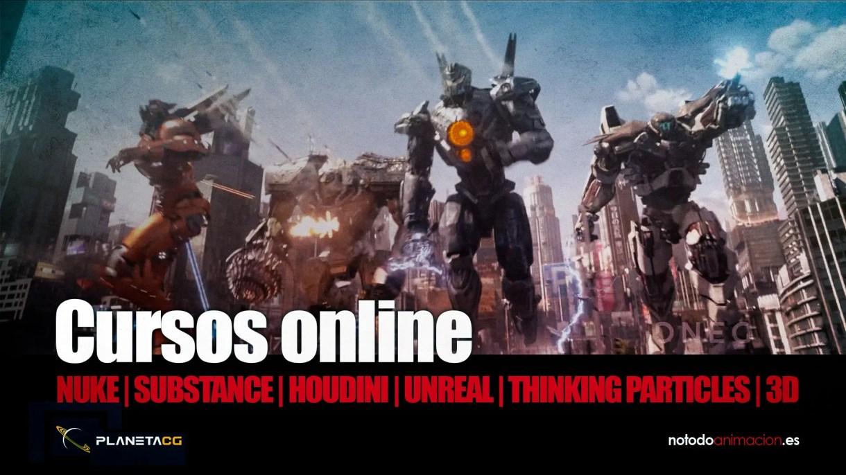 Cursos online 3D y VFX
