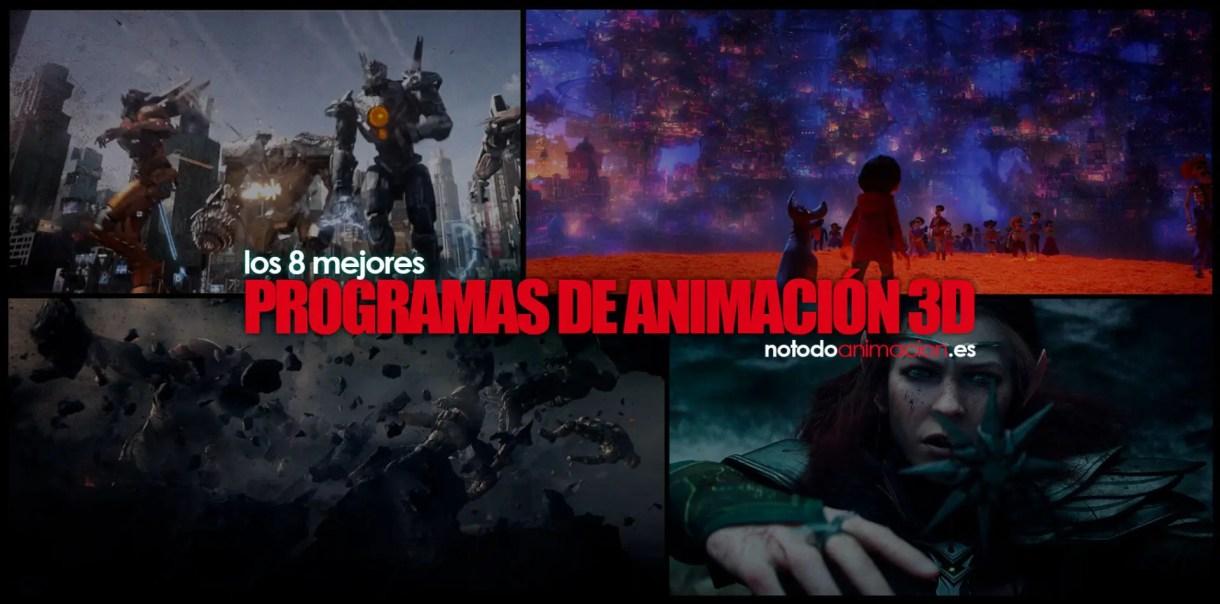 mejores programas de animacion 3d