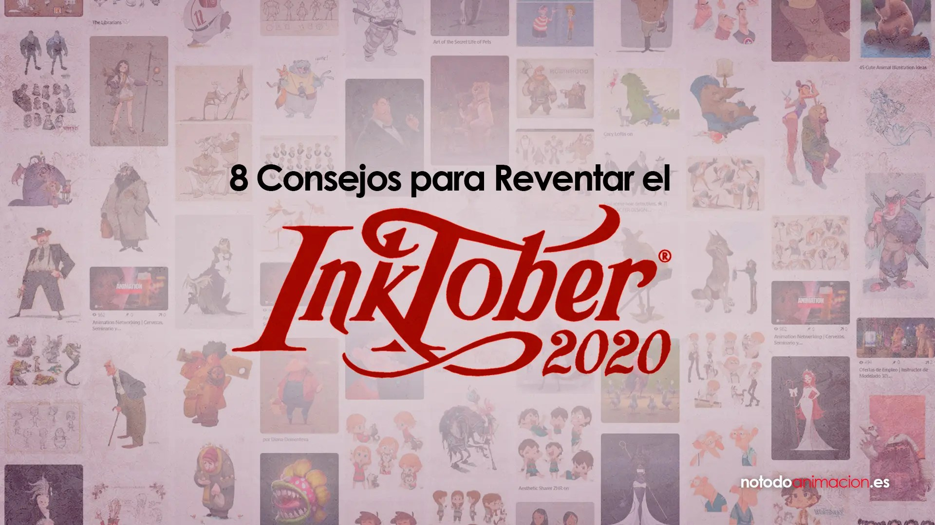 8 Consejos para reventar el Inktober 2020