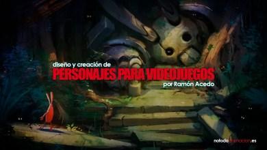 Photo of Proceso de Diseño y creación de personajes para videojuegos por Ramón Acedo