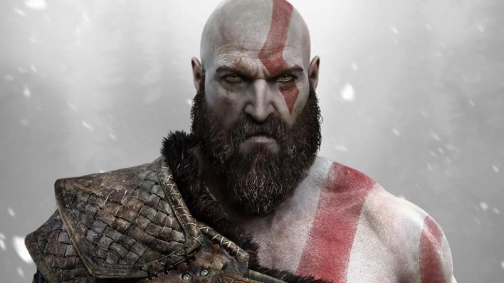 kratos character design