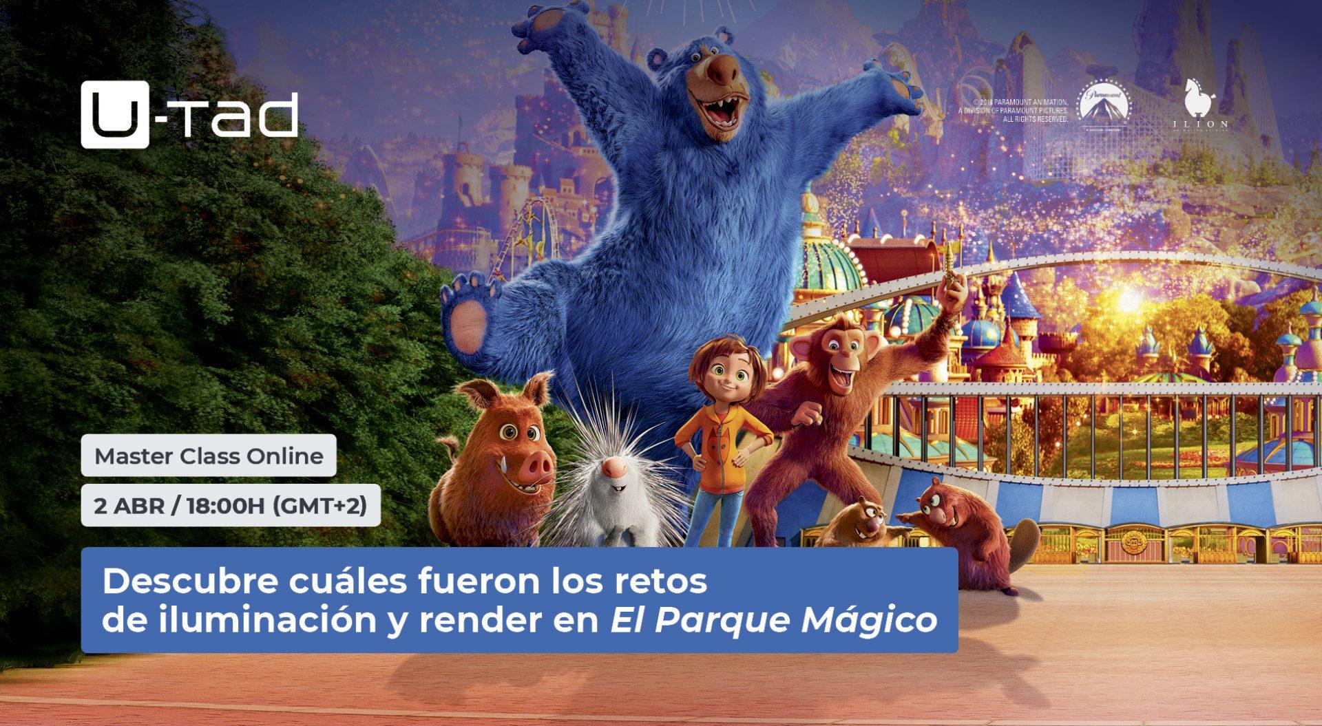 Master class  | Retos de iluminación y render en El Parque Mágico