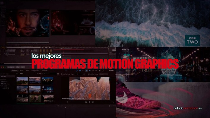 programas para crear y animar motion graphics