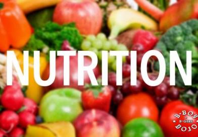 Une nutrition adéquate pour les B-boys et les B-girls !