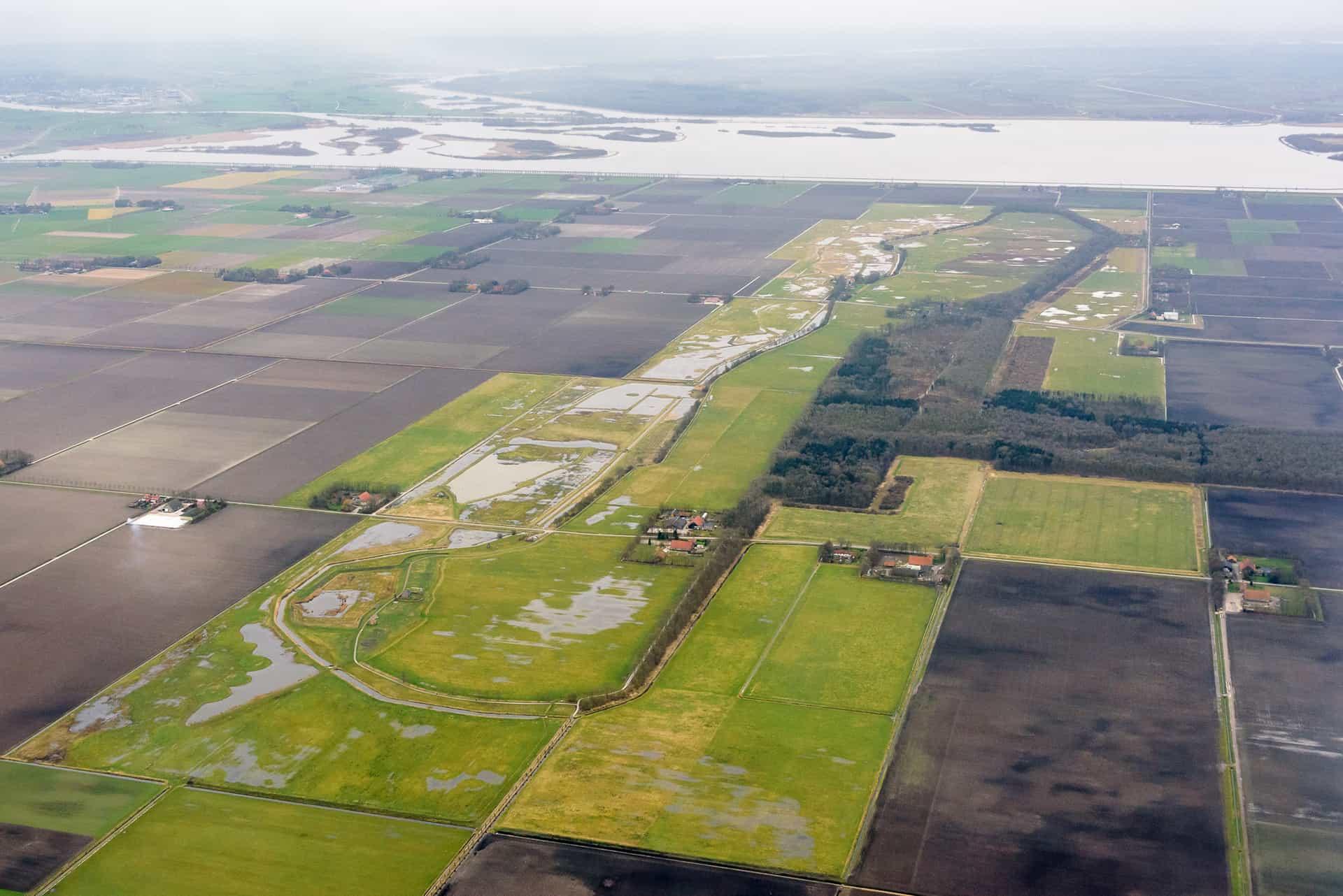 No Trace Bushcraft - Schokland aerial photo