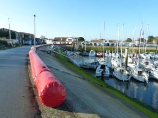 Ars-en-Ré - Barrage anti-submersion - 17 février 2015