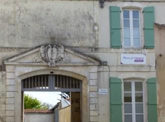Entrée du Palais du Gouverneur - Saint-Martin de Ré - 19 avril 2016