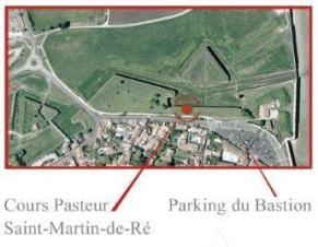Localisation de la Table des fortifications de Vauban - Octobre 2016