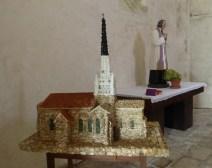 Eglise d'Ars-en-Ré en galets - Décembre 2014