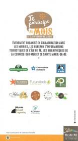 Ile de Ré - Mois de l'environnement 2017 - Partenaires