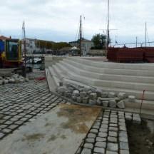 Port de La Flotte - Parapet môle Est - 22 octobre 2016.
