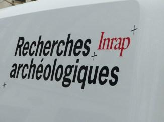 Ars-en-Ré - Travaux église - Recherches archéologiques - 20 mars 2017