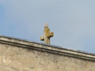 Ars-en-Ré - Travaux église - Chaulage des murs- 9 mai 2017