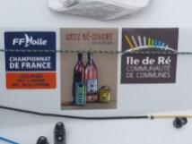 Sponsors Bateau Destination Ile de Ré - 6 septembre 2017