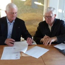 Ars-en-Ré - Signature convention Fondation du Patrimoine - 19 avril 2018
