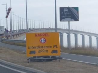 Pont de l'île de Ré - Restrictions poids lourds - 20 septembre 2018
