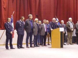 Ile de Ré - Sainte-Barbe des pompiers - 7 décembre 2018