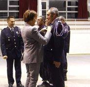 Ile de Ré - Médaille d'or des pompiers - 7 décembre 2018