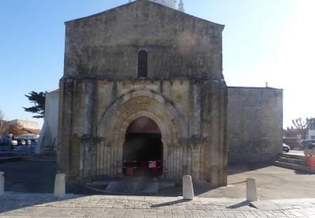 Ars-en-Ré - Eglise - Chantier - Novembre 2018