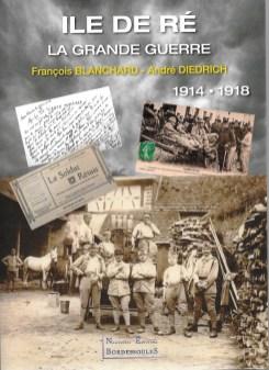 Couverture du livre Ile de Ré - La Grande Guerre