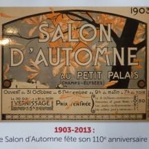 Catalogue Salon d'Automne - 110ème édition
