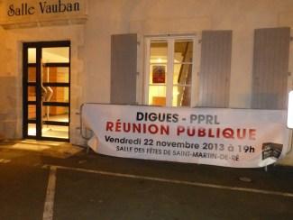 PPRL - Réunion publique - 22 novembre 2013