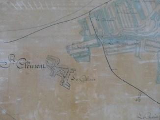 Carte canton nord île de Ré - 1913