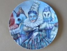 Agnès Boulloche - Assiette Carnaval