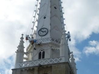 Ars - Peinture du clocher