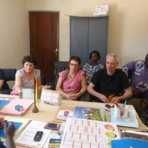 Palabres avec l'équipe municipale d'Arbollé - 13 février