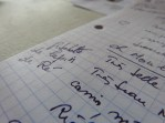 Notes de Jean-Luc Pouteau