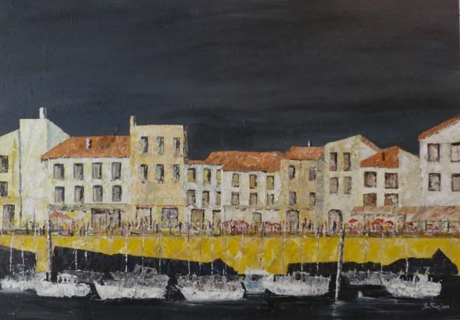 Bernard Frigière - Port de Saint-Martin de Ré