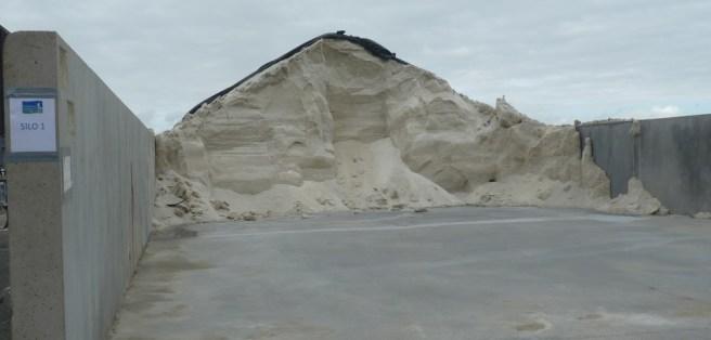 Stockage du gros sel