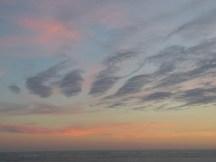 Coucher de soleil sur l'île de Ré - octobre 2014