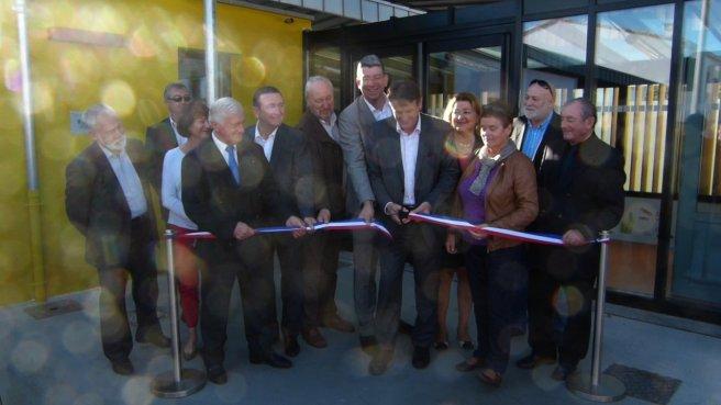 Inauguration crèche Les Salicornes - Ars-en-Ré - 18 octobre 2014