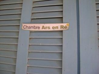 """Une des 4 chambres, s'appelle """"Ars-en-Ré""""."""