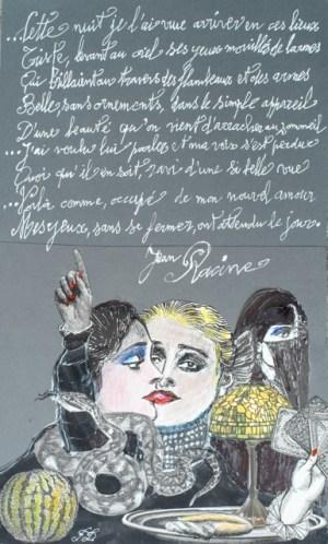 Francis Dumoulin - Dessin et texte