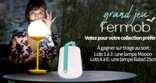 Concours Fermob chez Made in Design : des lampes design à gagner !