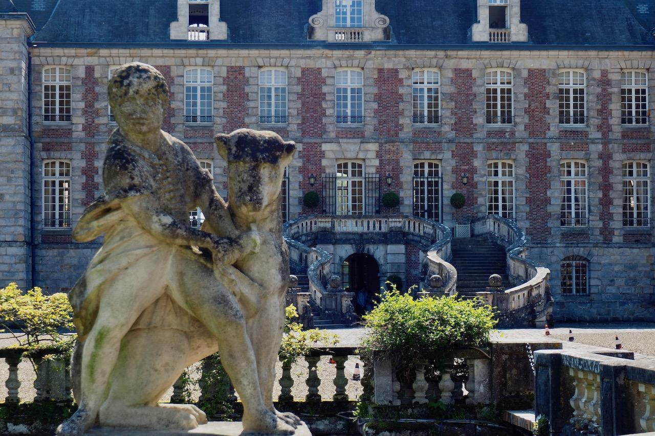 Ausflug zum Château de Courances