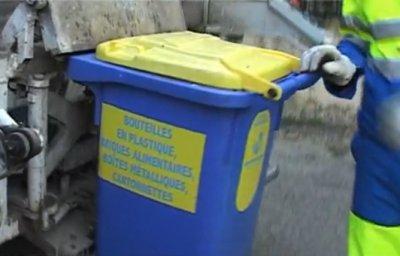 Extrait de la vidéo d'Ecoforum sur la collecte des déchets à Marignane