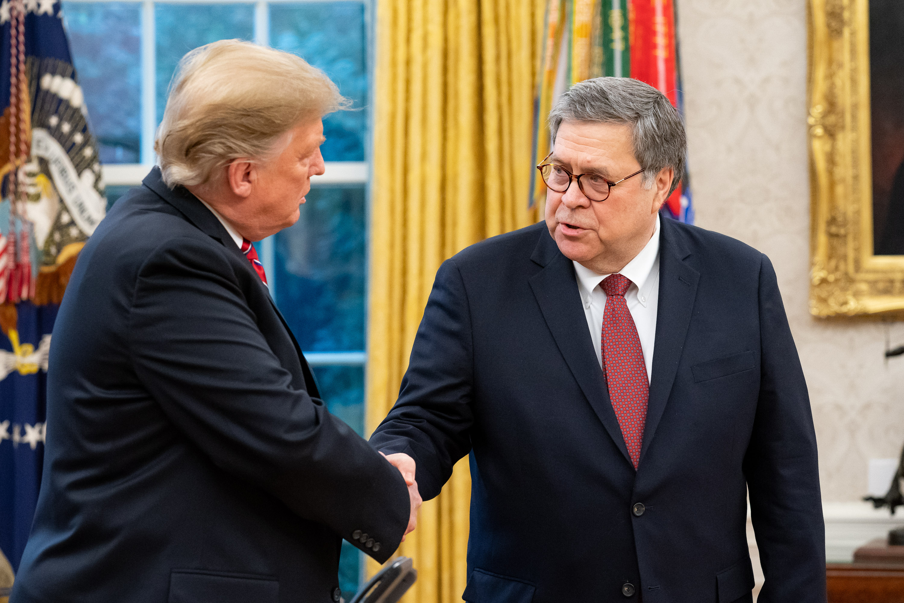 Trump Outraged Barr Forgot to Redact His Family's Secret Snake Oil Recipe from Mueller Report