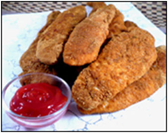 Fiber Fried Chicken Strips