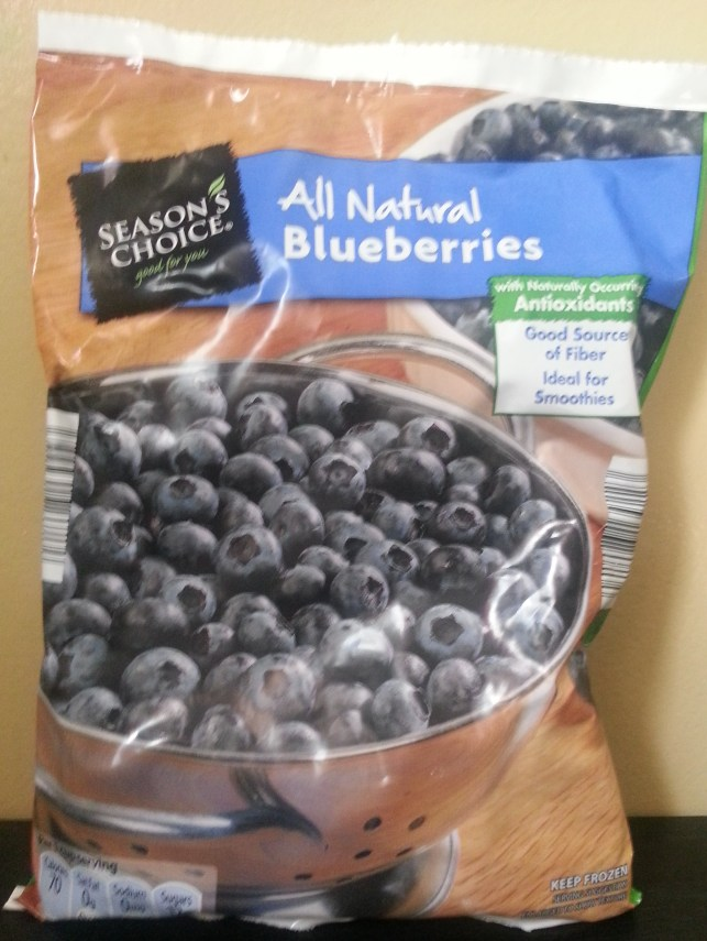 Frozen Blueberries from Aldi
