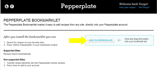 Pepperplate Bookmarklet 2
